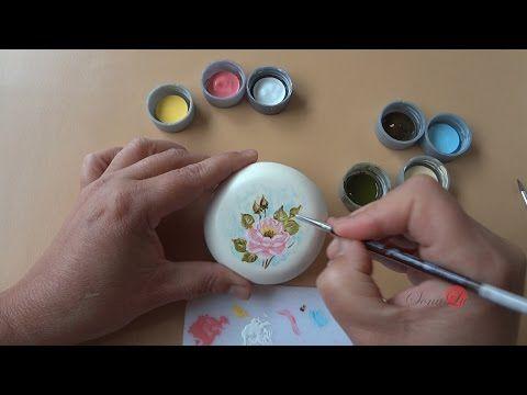 Rosa em Sabonete (Modelo1/ Aula 16) - YouTube