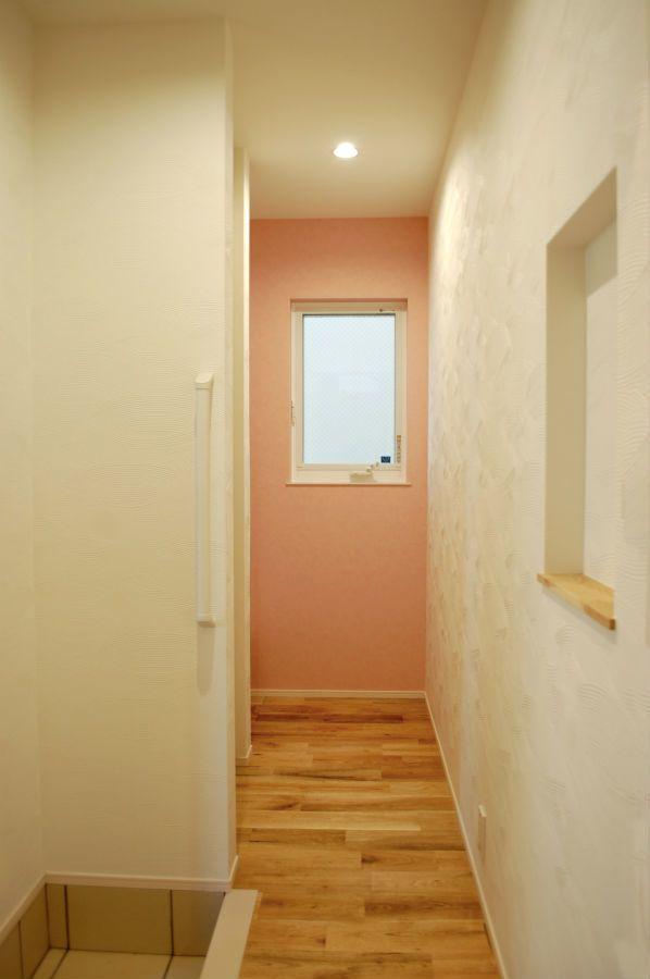 こだわりの使い勝手の良い玄関ホール 工藤工務店の施工写真集 家 壁紙 玄関ホール 玄関