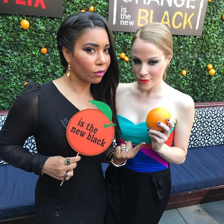 """Orange is the New Black (@oitnb) """"Party is just getting started """""""