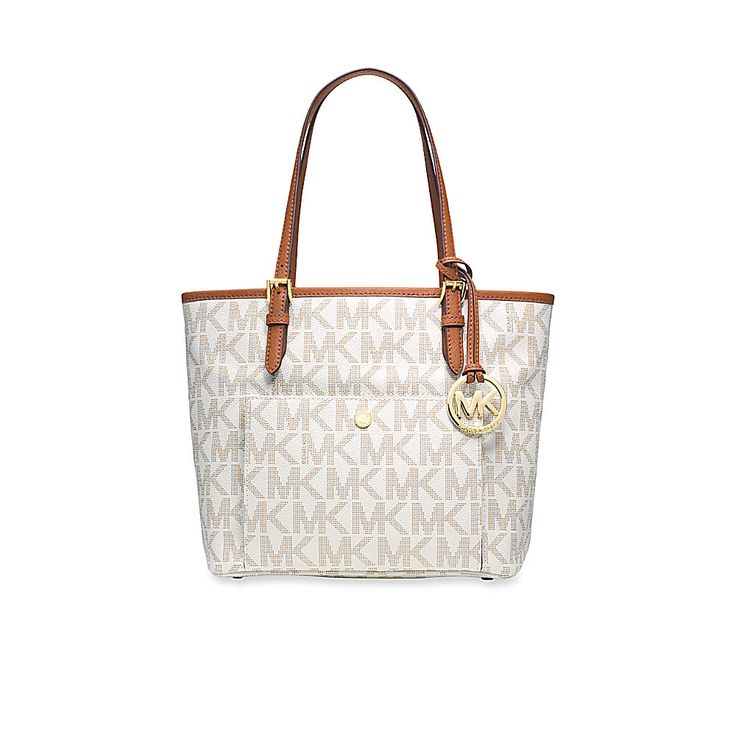 MICHAEL Michael Kors Jet Set Item Medium Snap Pocket Tote available @Belk