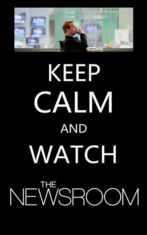 The Newsroom- such a great series!