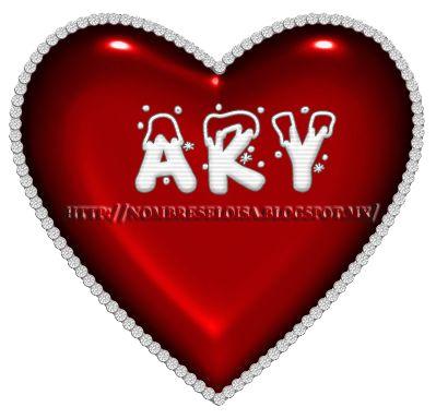 Nombres en Imagen: Nombres en Corazón con letras Navideñas 1