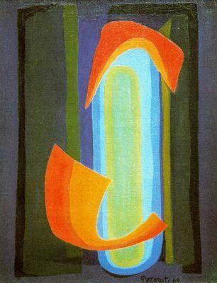 Visión I (1969) Emilio Pettoruti (Argentino 1892-1971)