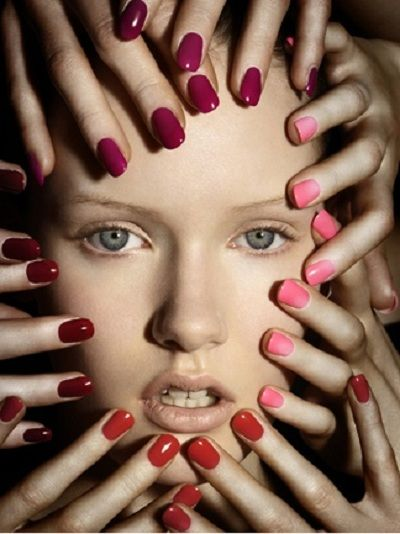 Embrace, but be careful and keep nails shorter with deep reds.