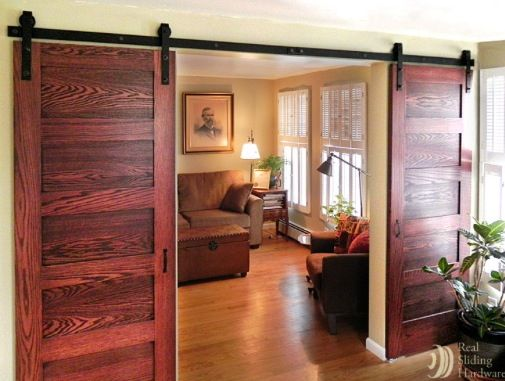 25 best hanging barn doors ideas on pinterest a barn barn house decor and how to decorate bedroom