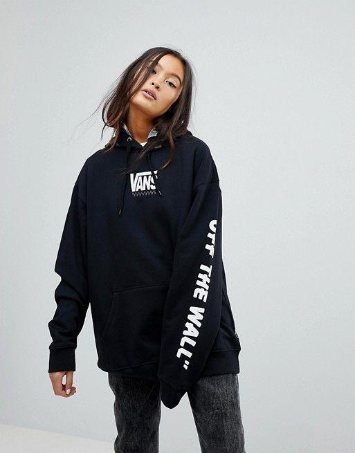 black vans hoodie