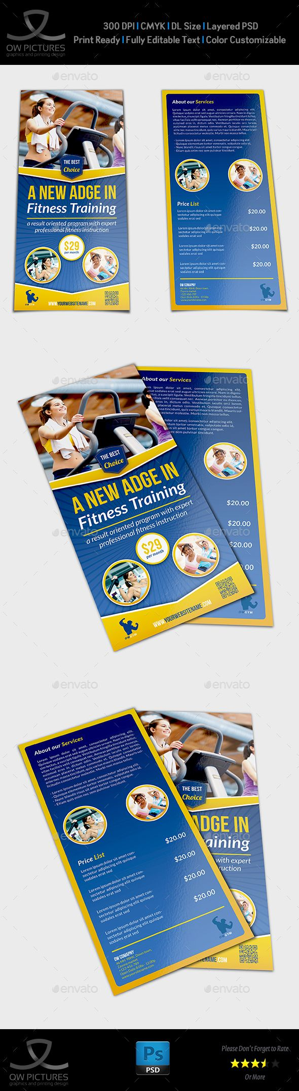 17 best images about flyer design restaurant dl fitness flyer template