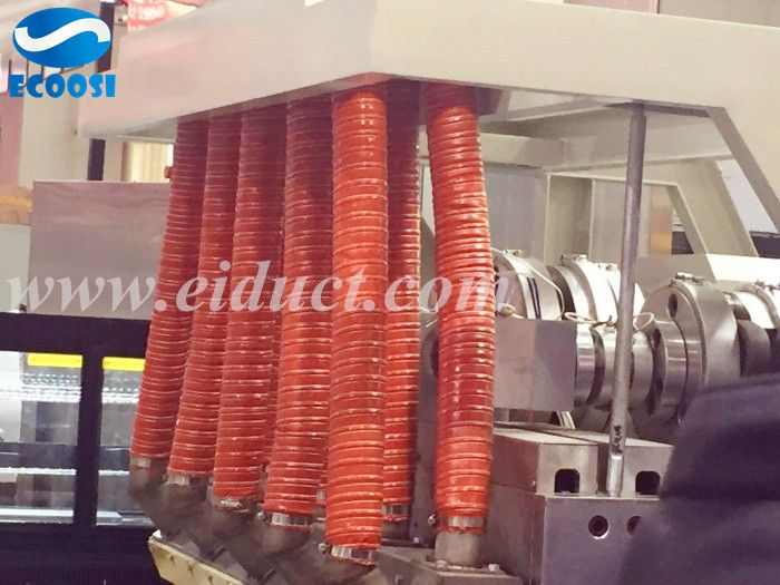 High Temperature Exhaust Hose Flexible Silicone Duct Silicone Hose News Center Ecoosi Industrial Co Ltd Flexible Duct Plastic Industry Duct