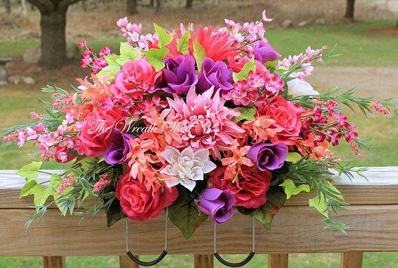 45 best Cemetery Floral Arrangements images on Pinterest