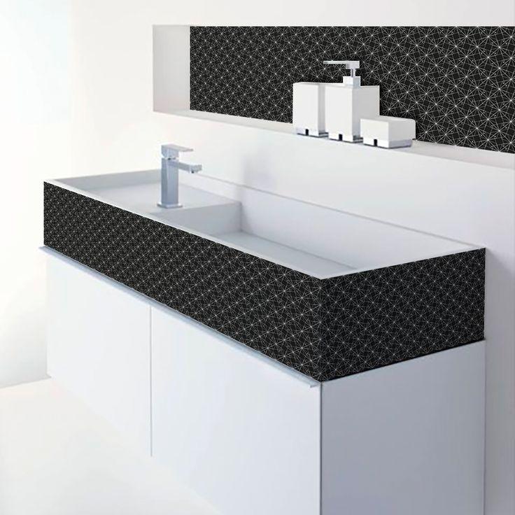 adhesif faience good beautiful adhesif carrelage mural. Black Bedroom Furniture Sets. Home Design Ideas
