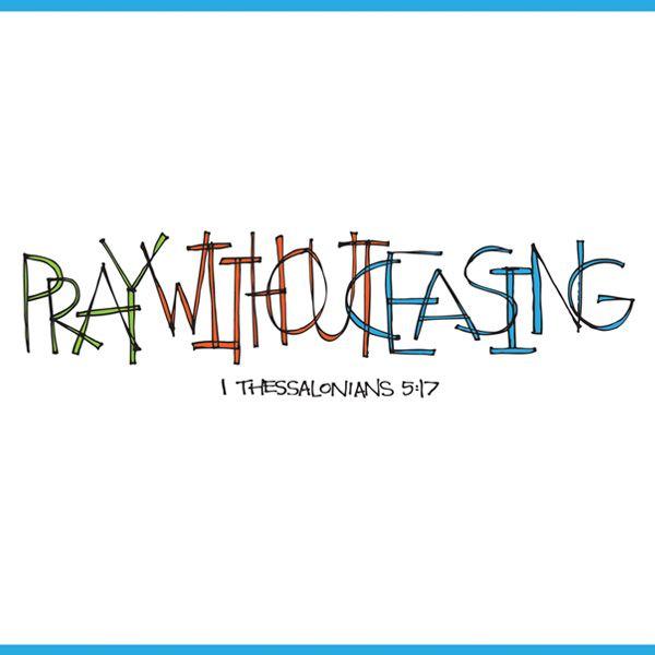 1 Thessalonians 5:17: Drawing, Eye