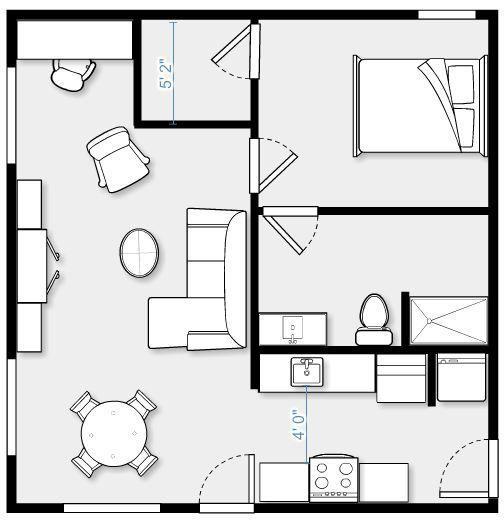 Flat Apartment Definition: 26 Best 400 Sq Ft Floorplan Images On Pinterest