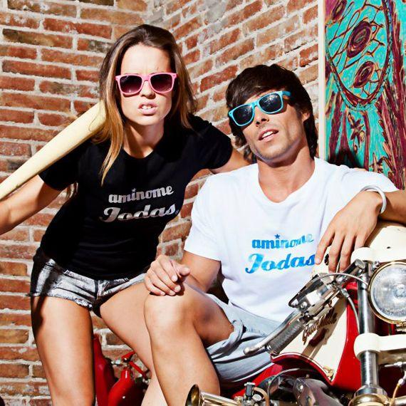 Estas camisetas expresan un pensamiento, una actitud de afrontar la vida y rebelarte ante las injusticias que nos rodean. ¡Hazte con la tuya y deja las cosas claras!     http://www.neodalia.com/es/ventas/camisetas-inconformistas