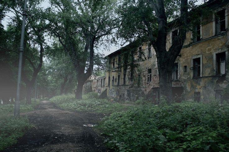 Чарующая красота. Заброшенный пермский дом.