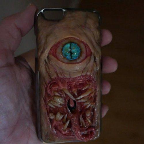 Реалистичные чехлы на смартфоны для любителей ужастиков ...