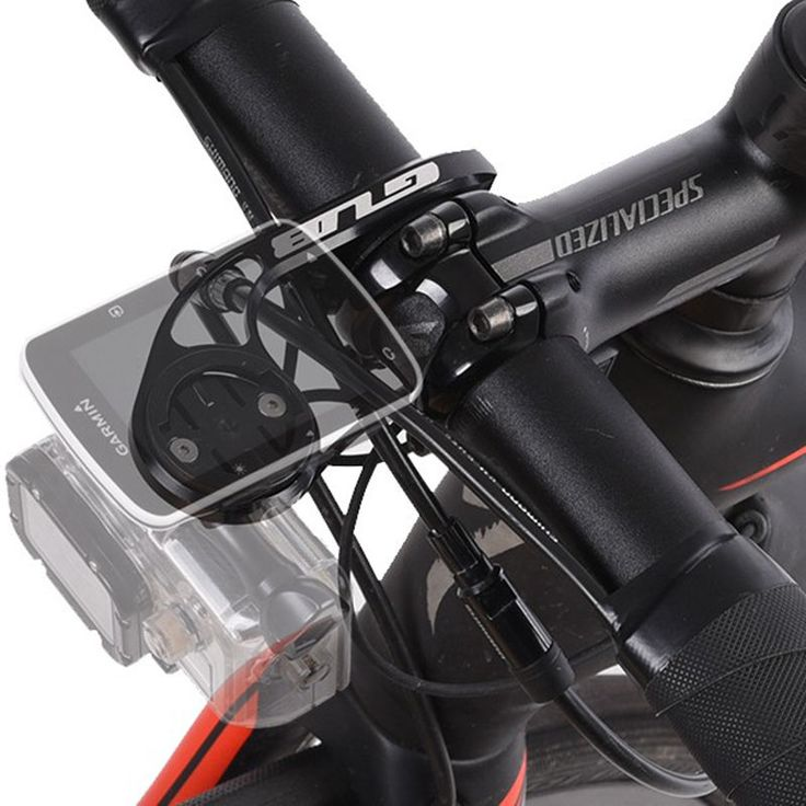 Alloy Bicycle Computer Mount for Garmin Edge Cateye Computer GoPro Hero Camera | eBay
