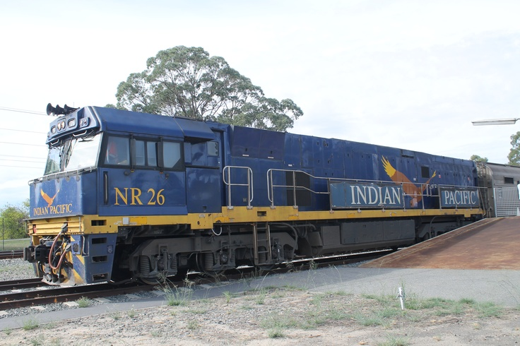 The Indian Pacific from Perth to Adelaide