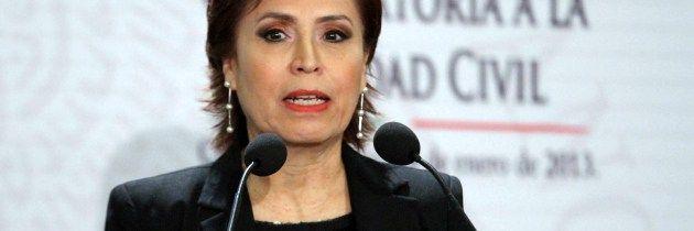 Rosario Robles promociona el matrimonio gay