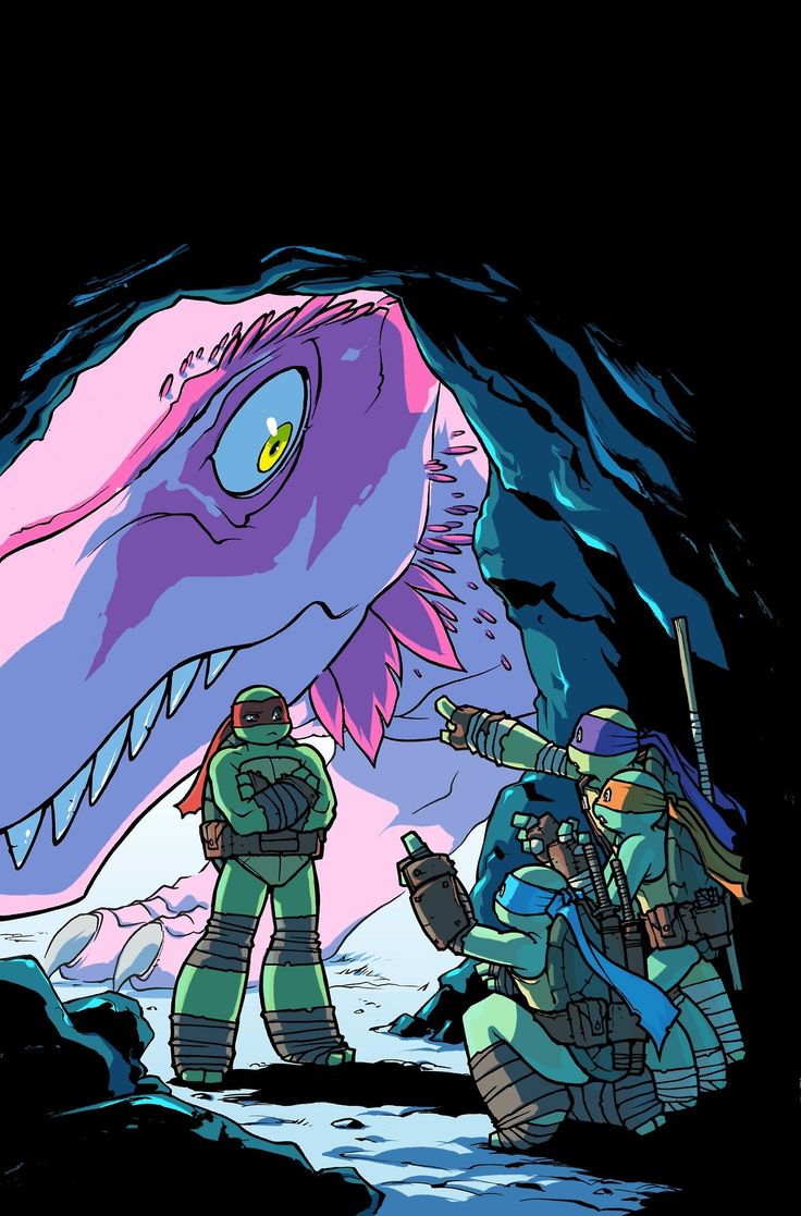 TMNT Turtles In Time!! This should SO be a episode!!! They go through a krang time machine or something!