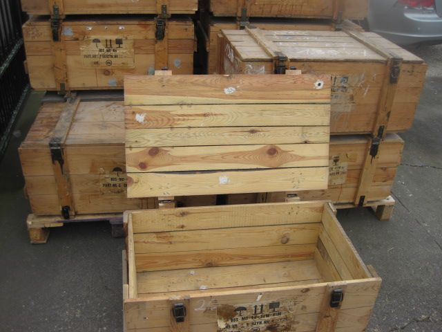 HOUTEN TONNEN - Kisten Kratten Bakken