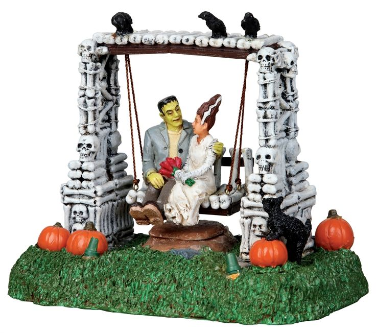 shop american sale for your lemax spooky town table accent monster romance and save