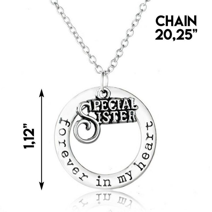 """""""Special Sister"""" Necklace"""