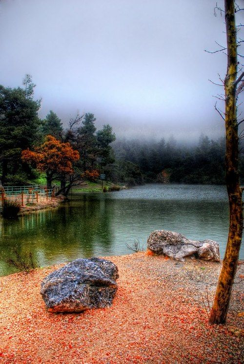 Beletsi Lake, Parnitha, Attiκι, Greece