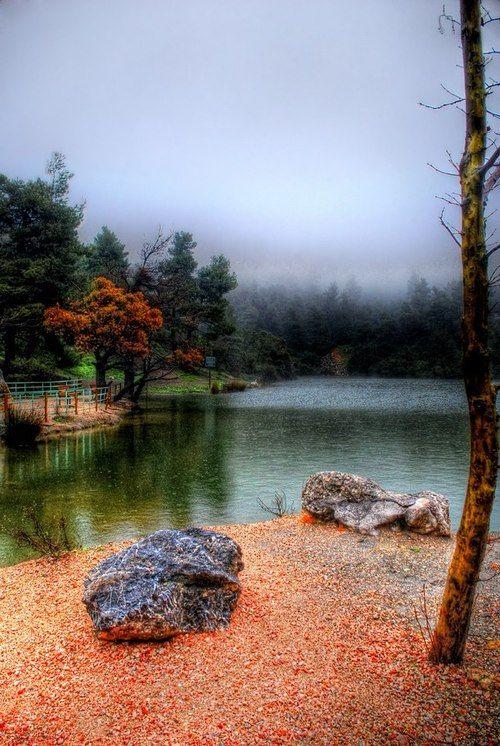 VISIT GREECE| Beletsi Lake, #Parnitha #Attiκι  Source:piddling.deviantart.com