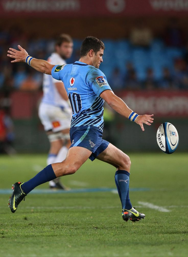 Monye Steyn of the Bulls in action during the round 3 Super Rugby match between the Bulls and the Force at Loftus Versfeld Stadium on March 2, 2013 in Pretoria, South Africa.