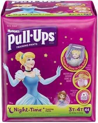 Huggies Pull-Ups Night*Time Training Pants  - Girls