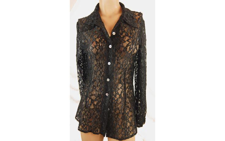 Casali divatos csupacsipke blúz 44-es - Női ing, blúz - XLruha Molett használt ruha - tunika