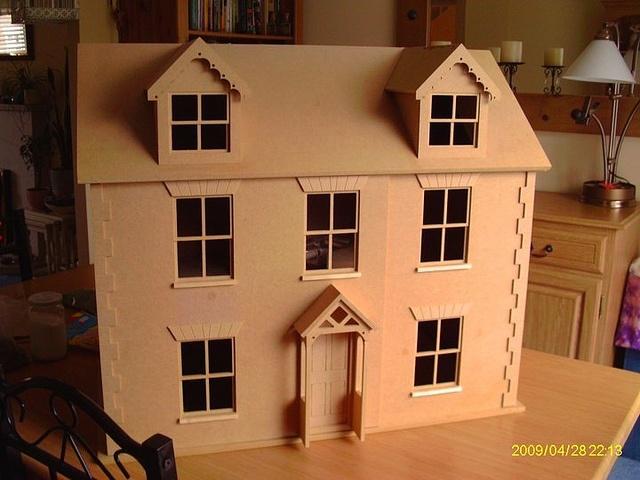 My new blank dolls house by Sweetbriar Dreams, via Flickr