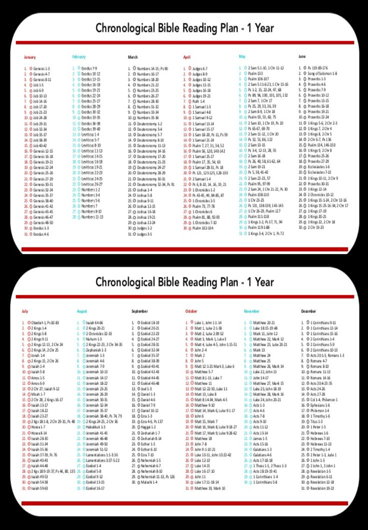 Galerry chronological bible plan printable