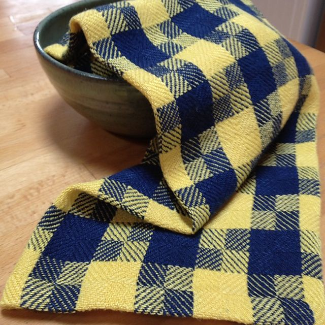 Ravelry: singastory's Houndstooth Turned Twill Dish towels