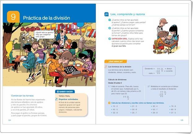 """Unidad 9 de Matemáticas de 3º de Primaria: """"Práctica de la división"""""""