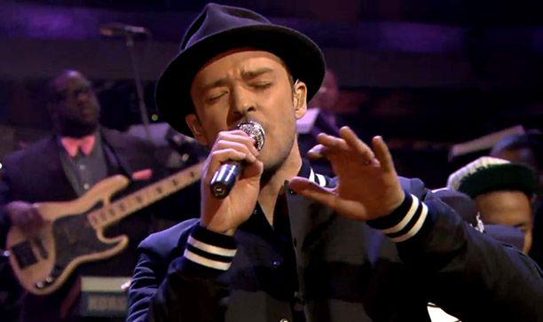 "Video: Fedora-Wearing Justin Timberlake Performs ""Strawberry Bubblegum"" on Fallon"
