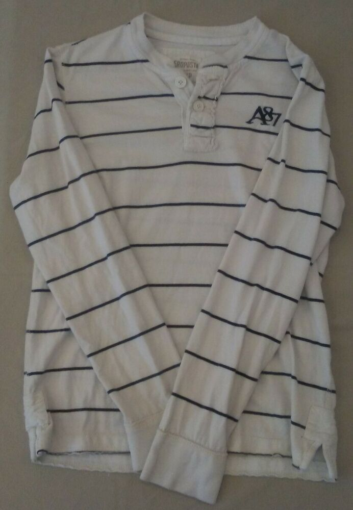 AUTH Fred Perry Men/'s Stripe Crewneck Sweatshirt