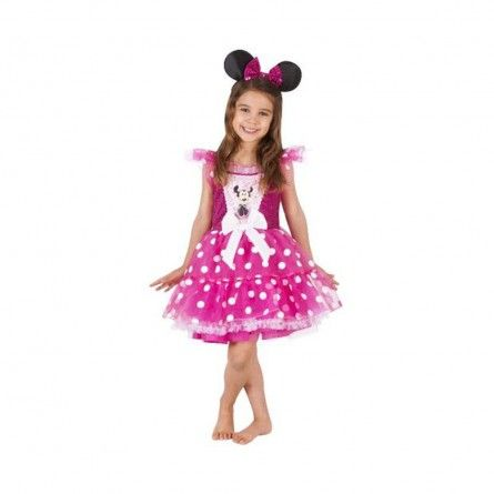 Kids Pink Minnie Mouse Costume