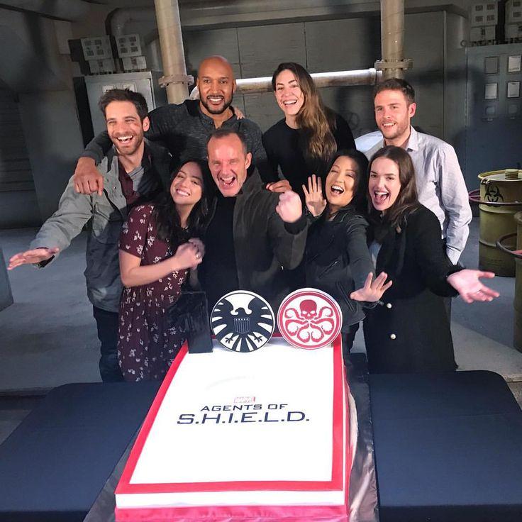 Agents of Shield cast - Season 5