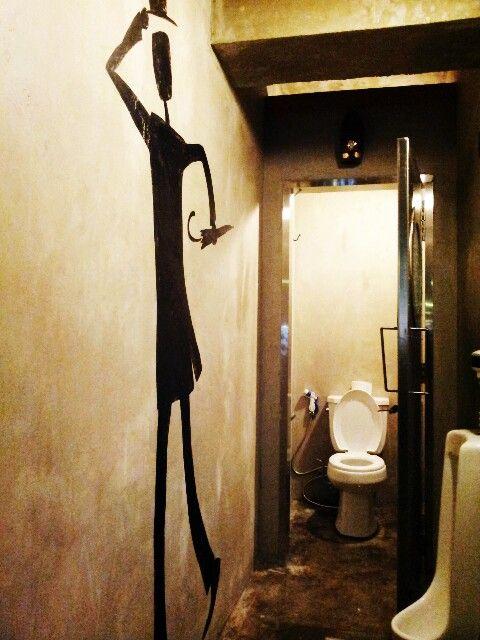 restroom.  busan.