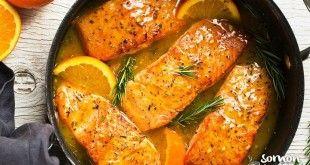 Portakallı Somon Fileto Tarifi