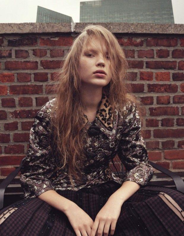 Anabel Krasnotsvetova by Michelangelo di Battista for Harper's Bazaar Japan - September 2015
