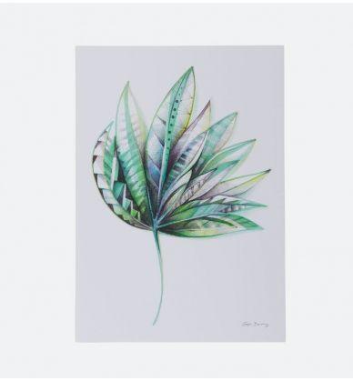 palm-leaf-plakat- living-bolig-indretning-plakatkunst