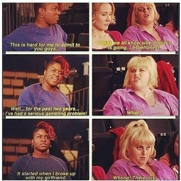 Pitch Perfect:) This is my favorite part!