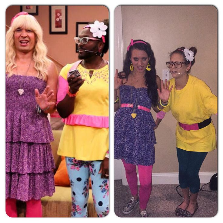 "Jimmy Fallon ""Ew"" skit parody Halloween costumes DIY. Sara with an H and Mar.i.am"