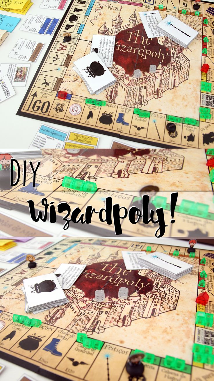 Geek Crafts Harry Potter Monopoly