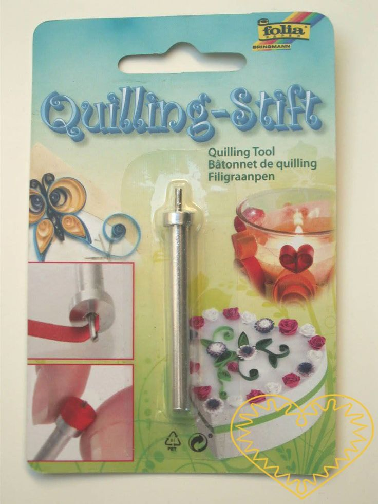 quilling - natáčeč - kovový navíječ Kovový natáčeč / navíječ na quilling. Velmi Vám usnadní a zpříjemní práci při natáčení papírových proužků. Pomocí quillingu vytvoříte krásná a originální přáníčka, ozdobíte krabičky, vyrobíte vějíř, mističku apod. Quilling je stará technika, která zaznamenala v poslední době rozmach. Někdy se jí říká ...