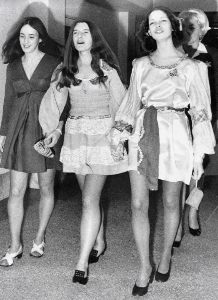 Susan Atkins, Patricia Krenwinkel & Leslie Van Houten 04-20-1971