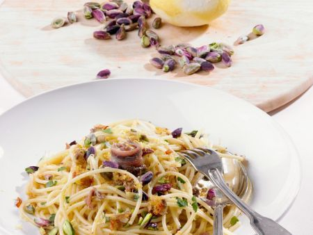 Pasta mit Pitazien und Sardellen