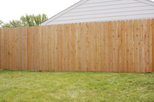 Dog Eared Fence Boards Menards